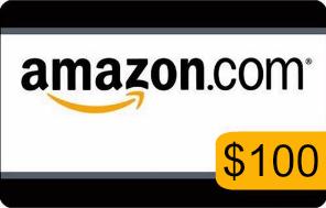 Amazon 100 gift card