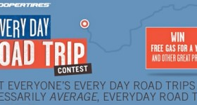Win Free Gas For A Year In Cooper Tire's My Every Day Road Trip Contest!