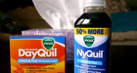 Vicks DayQuil & NyQuil offer mom multi-symptom relief #spon