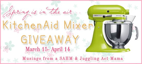 Spring KitchenAid Mixer