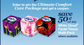 Chase away the sniffles with the White Cloud Ultimate Comfort Sweeps!