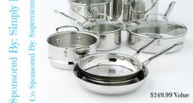 Spring In the Kitchen Cuisinart Cookware Set Giveaway