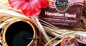 Tully's Hawaiian Blend coffee K-Cup Packs #YourPerfectCup