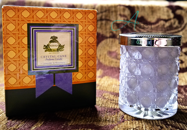 agraria lavender rosemary candle