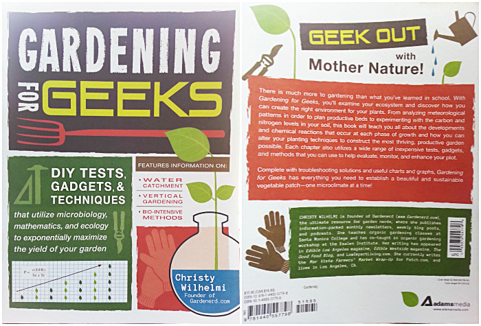 gardening for geeks book