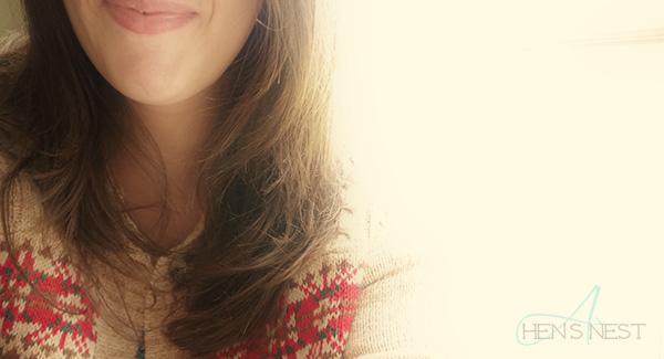 hair in soft light