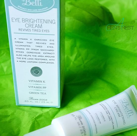 Belli Eye-Brightening Cream