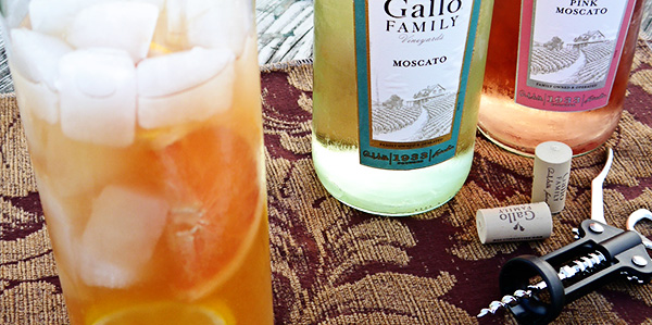 Moscato-punch