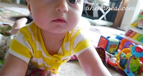 {almost} Wordless Wednesday – Darling Granddaughter #ww