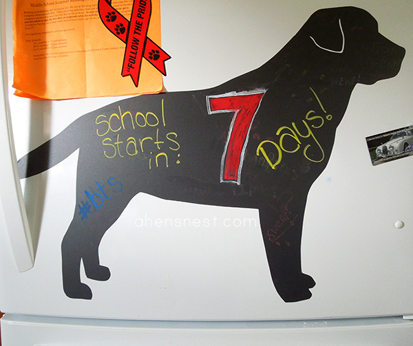 chalkboard dogs Labrador Retriever