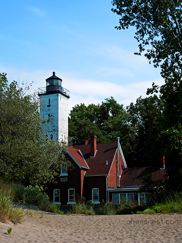 Presque Isle State Park Lake Erie Pennsylvania - lighthouse