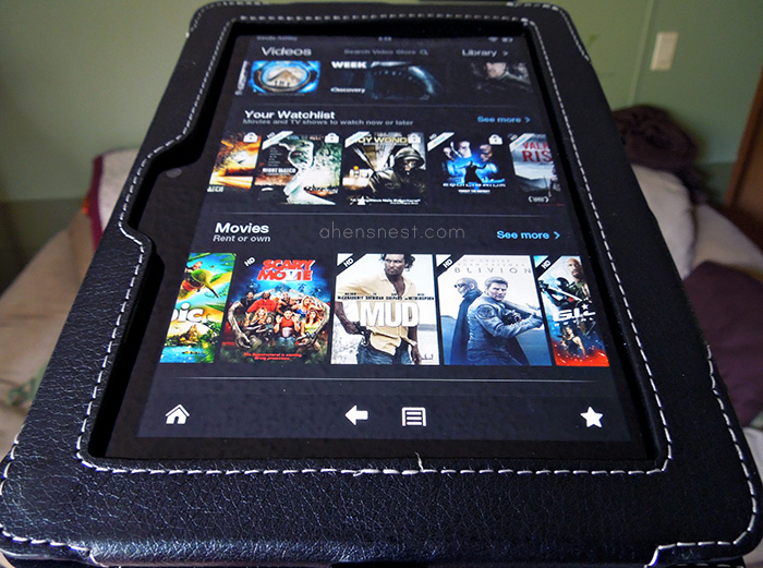 Snugg leather case for Amazon Kindle Fire HD 7in Review