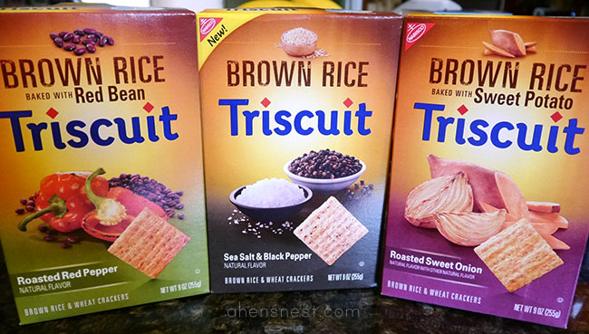 triscuit brown rice style crackers