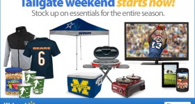 Tailgate Weekend Starts Now at Walmart.com! Save on all your party gear!