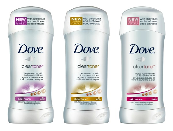 Dove ClearTone Deodorant