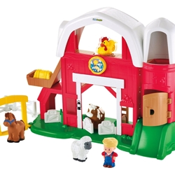 Fisher-Price Little People Animal Sounds Farm-sm