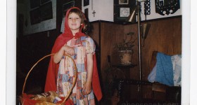 {almost} Wordless Wednesday – Halloween Costume of Old #ww