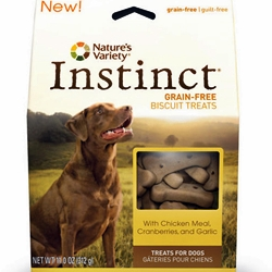 Nature's Variety INSTINCT dog treats