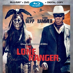 TheThe Lone Ranger Bluray Combo