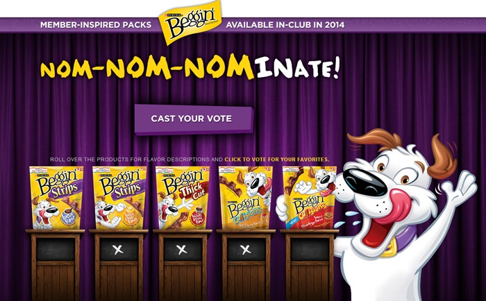 Beggin' Strips® vote
