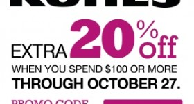 Stack the Savings Sale with Kohl's sitewide coupon codes!