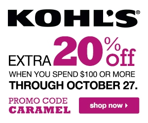 Kohls Department Stores Inc - October deals and coupon codes