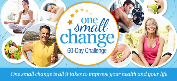 Puritan's Pride One Small Change Challenge