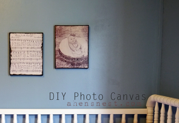 DIY Printed Photo Canvas
