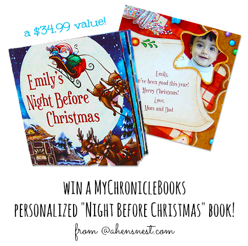 MyChronicle-Books-personalized-gift-giveaway