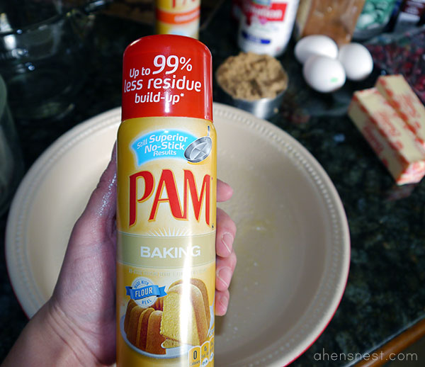 PAM cooking spray #PAMSmartTips cranberry pumpkin crunch