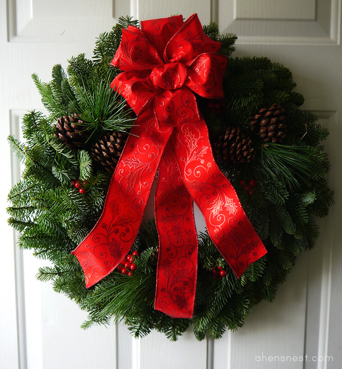 Christmas Forest classic Christmas wreath