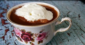 Glade® Inspired Creamy Coconut Milk Hot Chocolate
