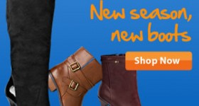 Cooler Weather Means it's Time to Shop New Fall Boots!
