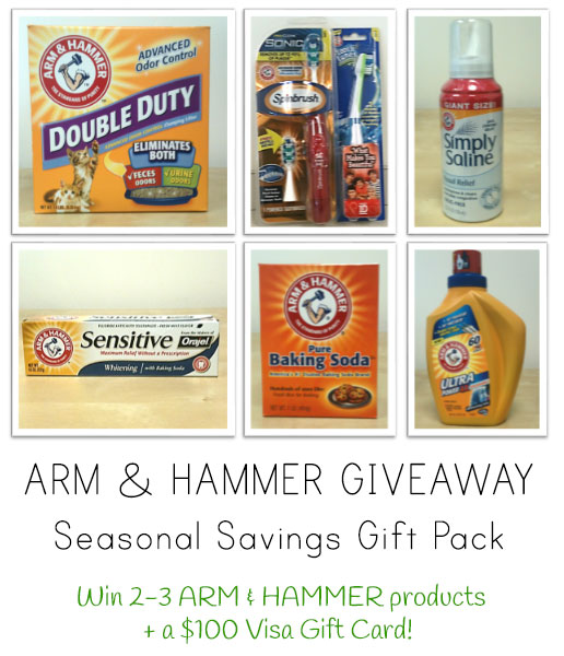 ARM & HAMMER Seasonal Giveaway