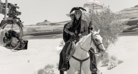Johnny Depp and Armie Hammer star in The Lone Ranger!