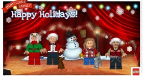 Share Holiday Cheer with your own LEGO Minifigure Family!