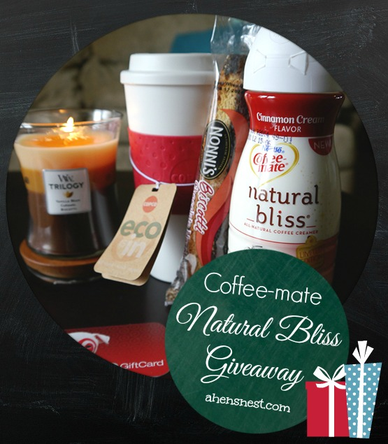 Coffee-mate Natural Bliss Giveaway