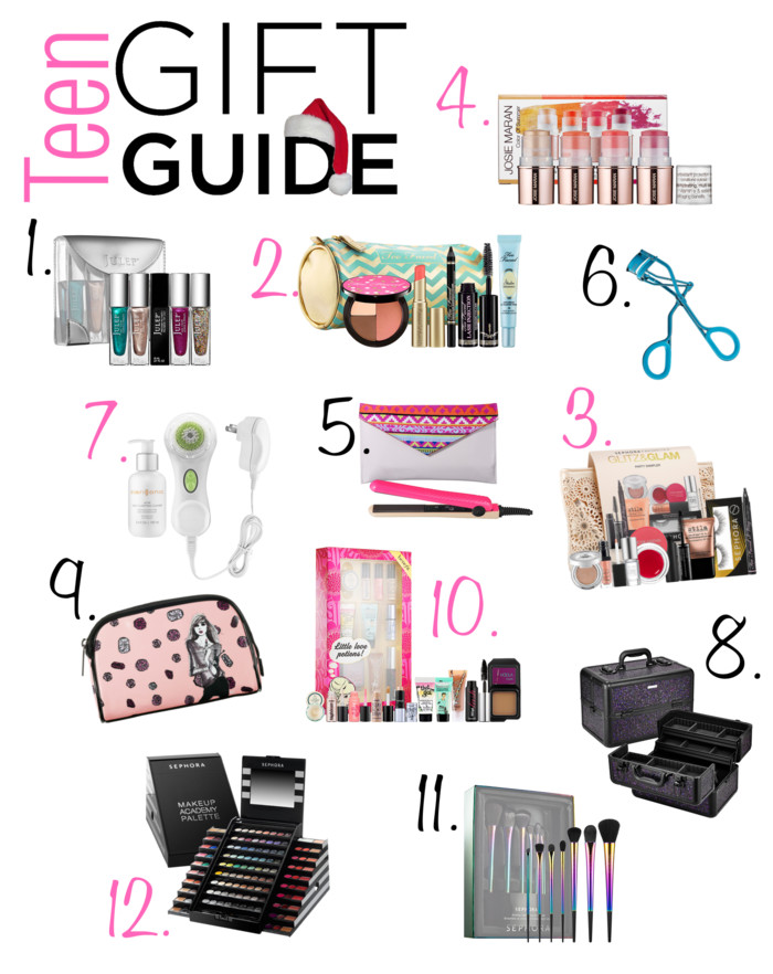 Teenage girl gifts for christmas beauty makeup edition
