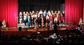 {almost} Wordless Wednesday – Christmas Chorus Concert #ww