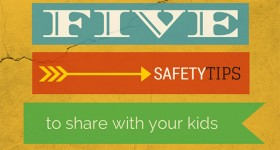 5 Safety Tips to Share With Your Kids – Guest Post