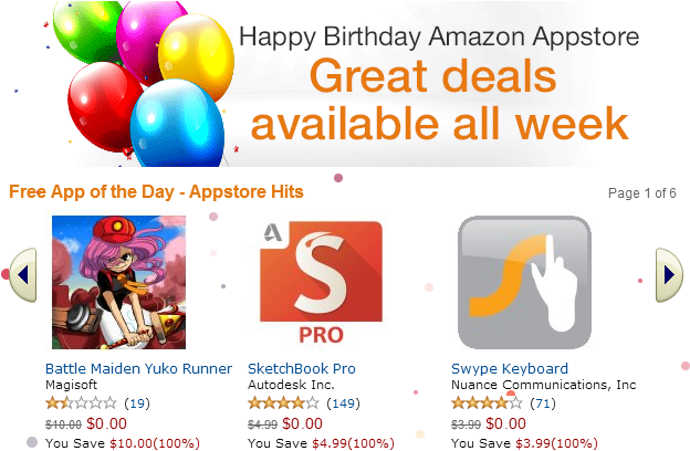 Amazon Appstore for Android Deals