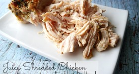 Juicy Shredded Chicken for Quick Weeknight Meals