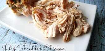 Juicy shredded chicken for easy weeknight meals