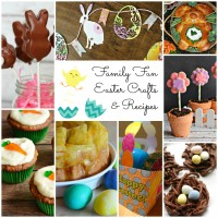 Fun Family Easter Crafts and Recipes