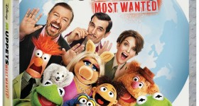 Disney's Muppets Most Wanted on Blu-ray Aug. 12th!