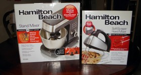 Hamilton Beach Stand Mixer and Hand Held Mixer #Giveaway