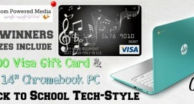 Back To School Tech Sweepstakes! Win an HP 14″ Chromebook PC or other prizes!