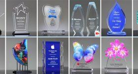 acrylic awards trophies