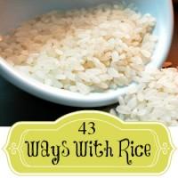 43 rice stir-in ideas