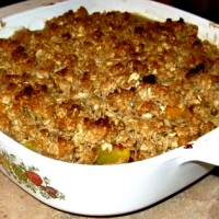 crunchy oatmeal crisp topping